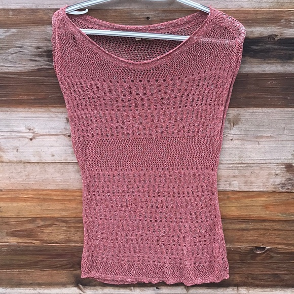 Anthropologie Sweaters - Anthropologie | Moth Knit Red Popover Sweater Med